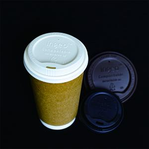 CPLA coffee cup lid